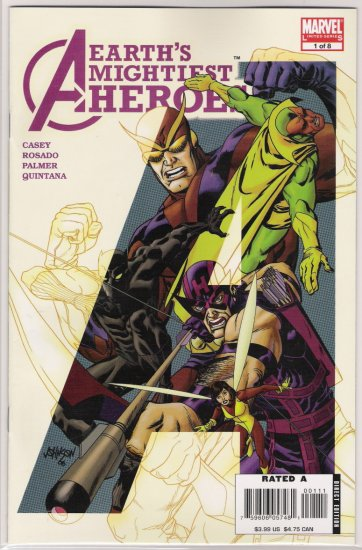 AVENGERS EARTH'S MIGHTIEST HEROES II #1-NEVER READ!