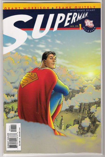 ALL STAR SUPERMAN #1 FRANK QUITELY-NEVER READ!