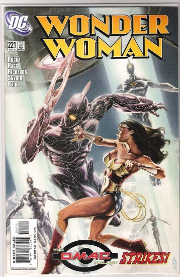 WONDER WOMAN #221 RAGS MORALES-NEVER READ!