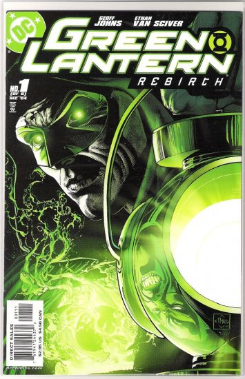 GREEN LANTERN REBIRTH #1 GEOFF JOHNS 1ST PRINT-NEVER READ!