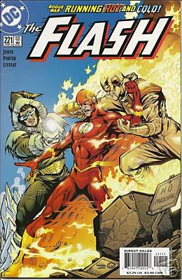 FLASH #221 GEOFF JOHNS-NEVER READ!