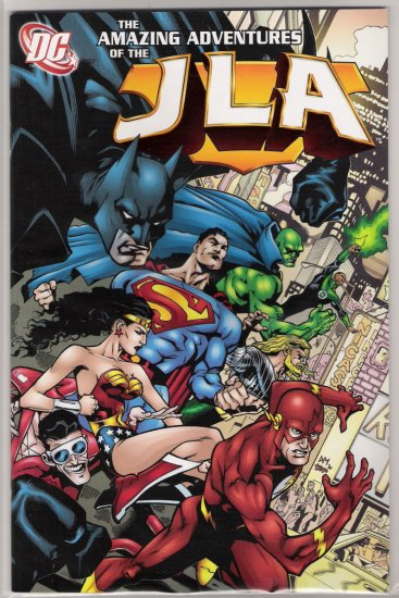 THE AMAZING ADVENTURES OF THE JLA-NEVER READ!