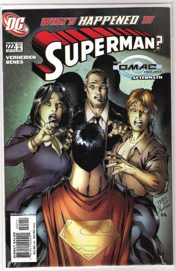 SUPERMAN #222-NEVER READ!