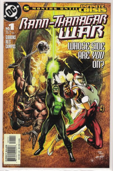 RANN-THANAGAR WAR #1 FIRST PRINT-NEVER READ!