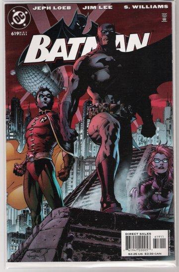 BATMAN #619 HUSH JEPH LOEB/JIM LEE-NEVER READ!