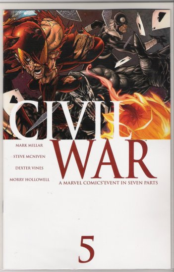 CIVIL WAR #5-NEVER READ!