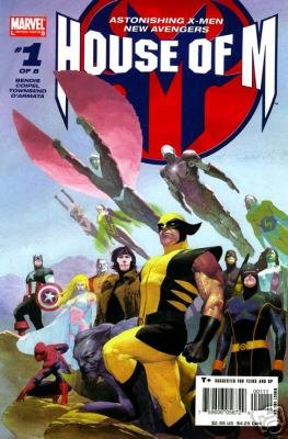 HOUSE OF M #1 BENDIS/COIPEL-NEVER READ!