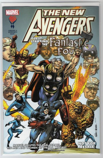 NEW AVENGERS MILITARY SPECIAL #2-NEVER READ!