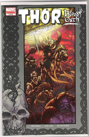 THOR BLOOD OATH #2-NEVER READ!