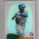 2005 TOPPS PRISTINE THE LEGENDARY YEARS HAROLD REYNOLDS MARINERS UNCIRCULATED REFRACTOR CARD