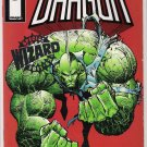 THE SAVAGE DRAGON 1/2 RARE SILVER  FOIL EDITION BY WIZARD/IMAGE W/COA-NEVER READ