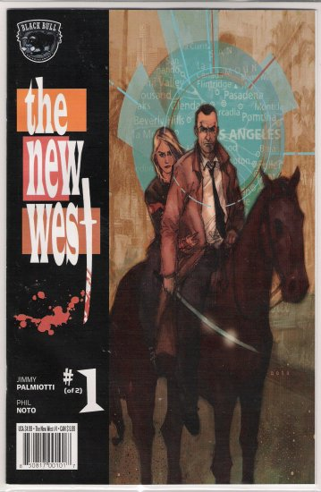 THE NEW WEST #1 (2005) BY BLACK BULL ENTERTAINMENT-NEVER READ!