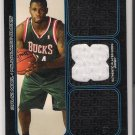 2006-07 BOWMAN DRAFT PICKS BOWMAN RELICS DAVID NOEL BUCKS JERSEY CARD