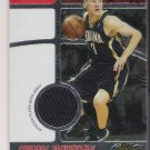 2006 TOPPS FINEST SARUNAS JASIKEVICIUS PACERS FINEST FACT JERSEY CARD