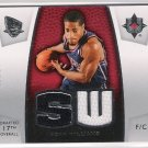 2007-08 UD ULTIMATE ROOKIE MATERIALS SEAN WILLIAMS NETS DUAL MATERIAL ROOKIE CARD