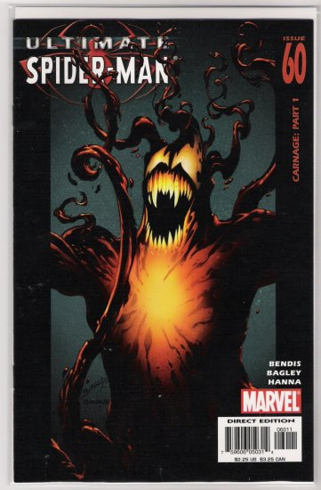 ULTIMATE SPIDER-MAN #60 1ST ULTIMATE CARNAGE-NEVER READ!