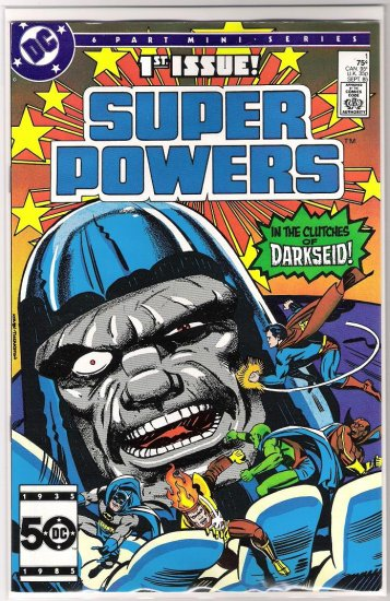 SUPER POWERS #1 (1985) JACK KIRBY-NEVER READ!