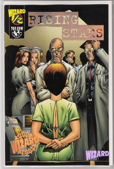 RISING STARS 1/2 GOLD EDITION BY WIZARD/TOP COW W/COA-NEVER READ