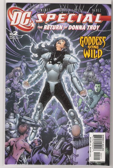 DC SPECIAL THE RETURN OF DONNA TROY #2 (2005)-NEVER READ!