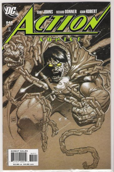 ACTION COMICS #845 1ST PRINT SOLD OUT-NEVER READ!