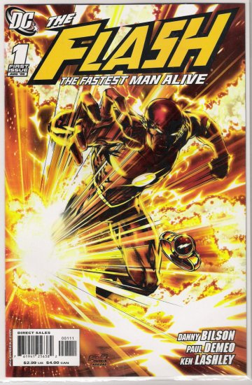 FLASH THE FASTEST MAN ALIVE #1 (2006)-NEVER READ!