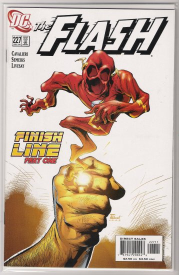 FLASH #227 (2005)-NEVER READ!