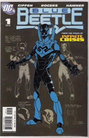 BLUE BEETLE #1 (2006) RARE 3RD PRINT-NEVER READ!