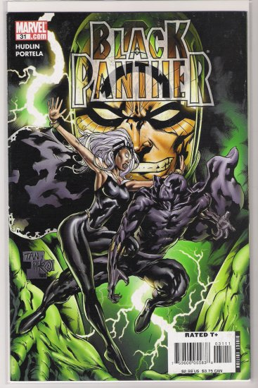BLACK PANTHER #31 (2007)-NEVER READ!