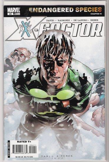 X-FACTOR #24 (2007) ENDANGERED SPECIES-NEVER READ!