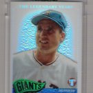 2005 TOPPS PRISTINE THE LEGENDARY YEARS BOBBY THOMSON GIANTS UNCIRCULATED REFRACTOR CARD