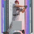 2004 LEAF CERTIFIED MATERIALS TROY GLAUS ANGELS JERSEY CARD