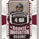 2003 NFL UD PATCH COLLECTION DAVE ROGONE TEXANS ROOKIE INNOVATION PATCH CARD
