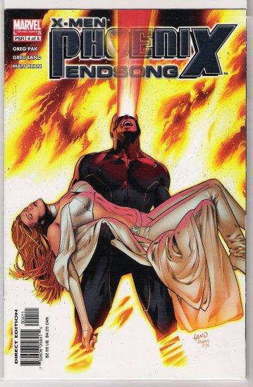 X-MEN: PHOENIX ENDSONG #4 GREG LAND COVER-NEVER READ!