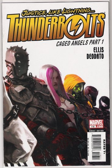 THUNDERBOLTS #116 CAGED ANGELS-NEVER READ!