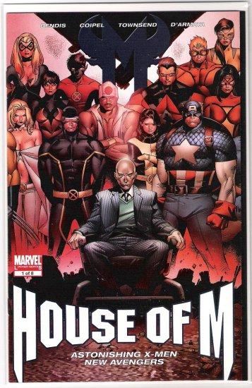 HOUSE OF M #1 COIPEL GATEFOLD COVER-NEVER READ!