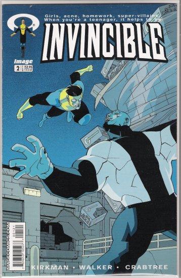 INVINCIBLE #2 (2003) ROBERT KIRKMAN-NEVER READ!