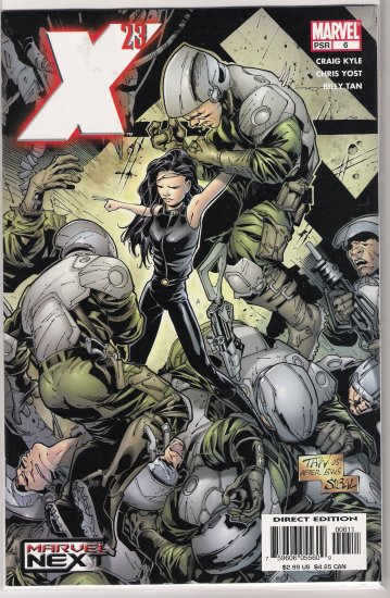 X-23 #6 (2005)-NEVER READ!