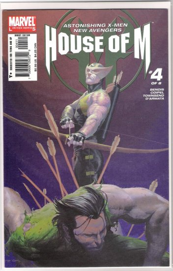 HOUSE OF M #4 (2005) FIRST PRINT-NEVER READ!
