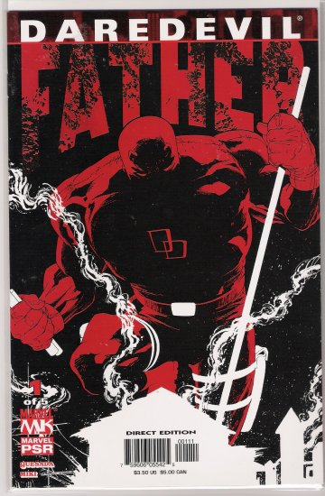 DAREDEVIL FATHER #1 JOE QUESADA-NEVER READ!