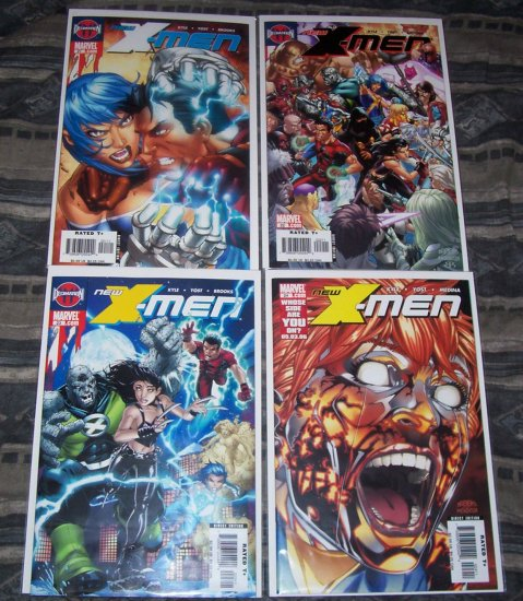 NEW X-MEN LOT 21,22,23, AND 24-NEVER READ!