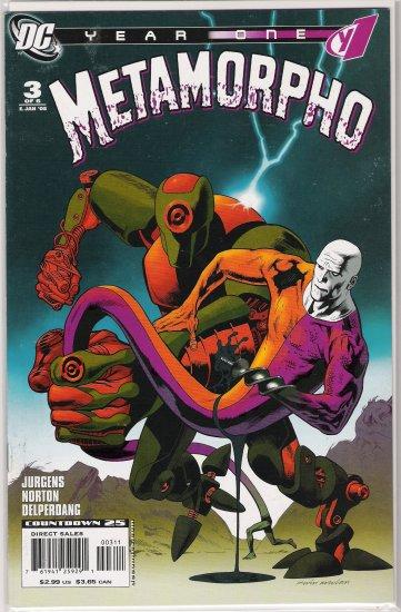 METAMORPHO YEAR ONE #3 (2008)-NEVER READ!