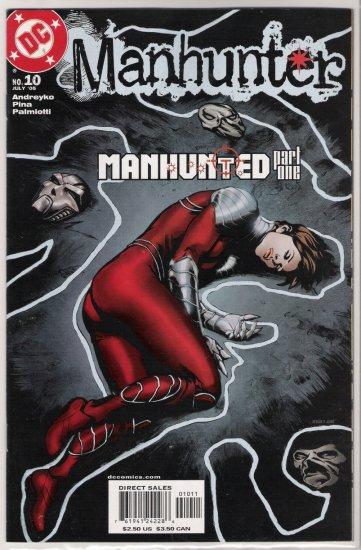 MANHUNTER #10 (2005)-NEVER READ!