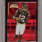 2003 BOWMAN CHROME TERRENCE EDWARDS FALCONS UNCIRCULATED RED REFRACTOR ROOKIE CARD