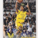 1997 SCOREBOARD KWAME EVANS AUTOGRAPHED CARD