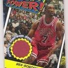 2005-06 TOPPS BEN GORDON BULLS BAZOOKA POWER RELIC GAME-WORN JERSEY CARD