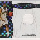2006-07 BOWMAN ELEVATION JAMAAL TINSLEY PACERS BOARD OF DIRECTORS RELIC JERSEY CARD #'D 70/99!