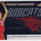 2006-07 TOPPS FINEST ADAM MORRISON BOBCATS FINEST MOMENTS CARD