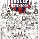 HOUSE OF M SKETCHBOOK (2005)-NEVER READ!