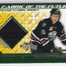 2002-03 BOWMN YOUNGSTARS SHAWN HORCOFF OILERS JERSEY CARD