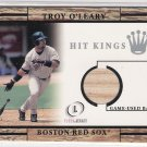 2001 FLEER LEGACY TROY O'LEARY RED SOX HIT KINGS GAME-USED BAT CARD